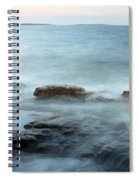 Waves On The Coast Spiral Notebook