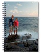 Waves Splash Children Spiral Notebook