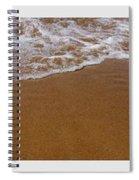 Waves Triptych Spiral Notebook