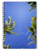 Waving Palm Trees Spiral Notebook