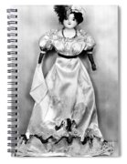 Wax Doll, C1820 Spiral Notebook