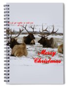 We All Got Together Christmas Spiral Notebook