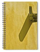 Weathered Carved Stone Down Spout Spiral Notebook