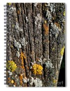 Weathered Post Spiral Notebook