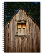 Weathered Structure Spiral Notebook