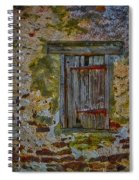 Weathered Vibrancy Spiral Notebook