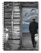 Weathering The Gulls Spiral Notebook