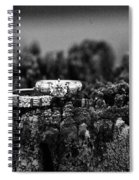 Wedding Bands On Stump Spiral Notebook