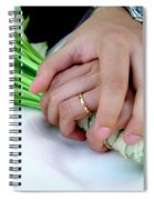Wedding Rings Spiral Notebook