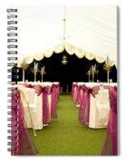 Wedding Venue Spiral Notebook