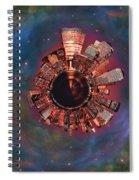 Wee Manhattan Planet Spiral Notebook