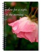 Weeping Spiral Notebook