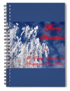 Weeping Willow Christmas Spiral Notebook