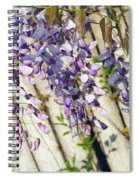 Weeping Wisteria Spiral Notebook