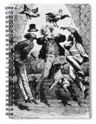Weightlessness, 19th Century Spiral Notebook