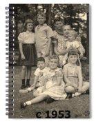 Weiner Cousins C 1953 Spiral Notebook
