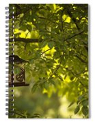 Welcome Feather Friends Spiral Notebook