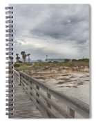 Welcome To Bald Head Island Spiral Notebook