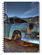 Welcome To Death Valley Spiral Notebook