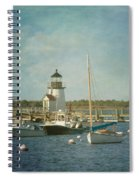 Welcome To Nantucket Spiral Notebook