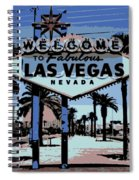 Welcome To Vegas  Spiral Notebook