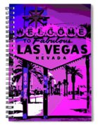 Welcome To Vegas No.2 Spiral Notebook