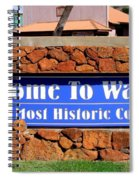 Welcome To Waimea Spiral Notebook