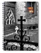 Welcoming Light Spiral Notebook