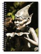 Well Gremlin Spiral Notebook