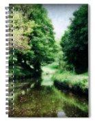 Welsh Canal Dream Spiral Notebook