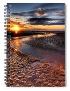 Welsh Sunset Spiral Notebook