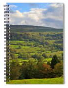 Wensleydale Near Westholme Bank In The Yorkshire Dales Spiral Notebook