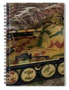 Wespe 105 Mm Self-propelled Gun Spiral Notebook
