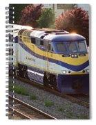 West Coast Express Spiral Notebook