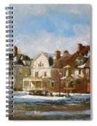 West Ferry Street Spiral Notebook
