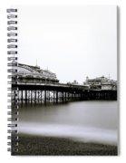 Brighton West Pier Spiral Notebook