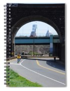 West River Drive Philadelphia Spiral Notebook