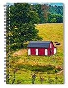 West Virginia 2 Paint Spiral Notebook