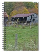 West Virginia Barn 3211 Spiral Notebook