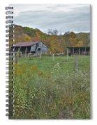West Virginia Barn 3212 Spiral Notebook