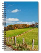 West Virginia Wandering 3 Spiral Notebook