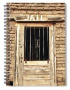 Western Jail House Door Spiral Notebook