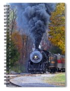 Western Maryland Steam Train Spiral Notebook
