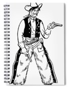 Western Outlaw Spiral Notebook