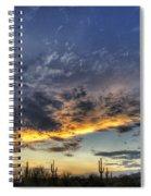 Western Skies  Spiral Notebook
