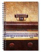 Westinghouse Fm Rainbow Tone Radio Spiral Notebook