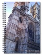 Westminster Abbey London Spiral Notebook