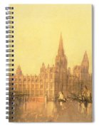 Westminster Houses Of Parliament Spiral Notebook