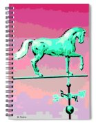 Westward Ho Spiral Notebook