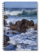 Wet Lava Rocks Spiral Notebook